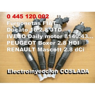 0445110002 Inyector Common Rail Bosch