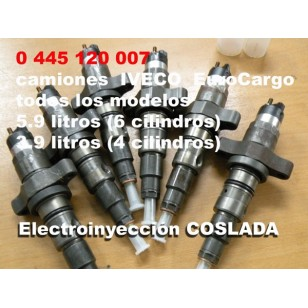 0445120007 Inyector Common Rail Bosch
