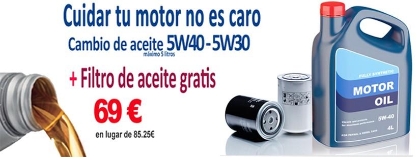Cambio aceite 5W40 -5W30