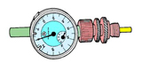 Reloj comparador para puesta a punto.