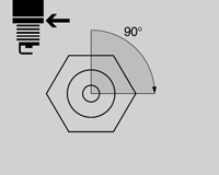 Montaje correcto de bujías sin llave dinamométrica.
