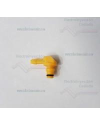 Conexión final de sobrante inyectores Bosch
