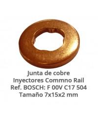 Junta de cobre F 00V C17 504