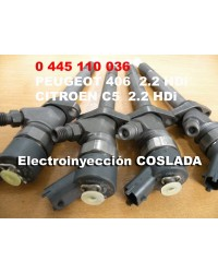 0445110036  Inyector Common Rail Bosch