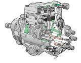 Bomba Zexel Con regulación electrónica CVEC-F